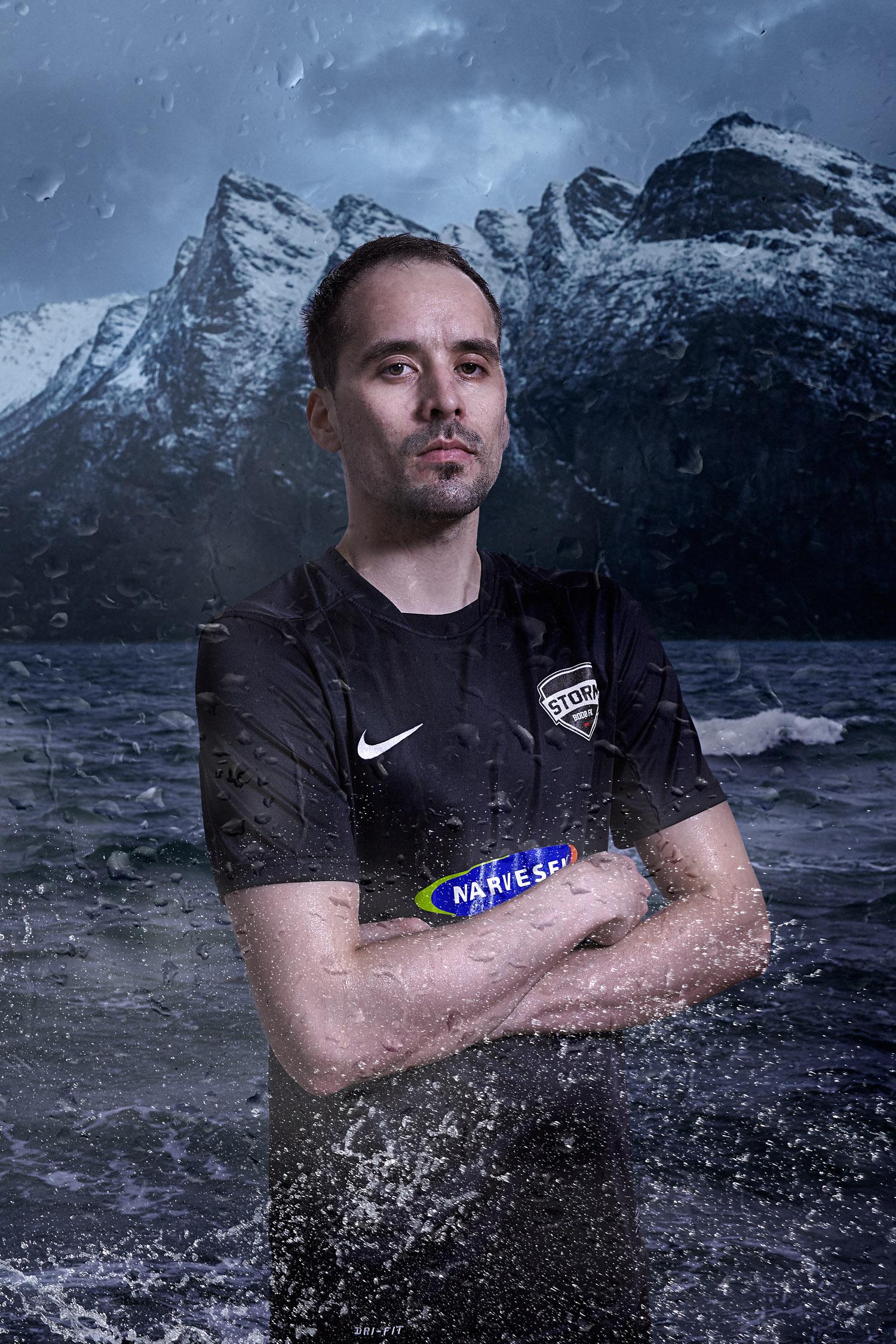 Mads Birger Olaussen for Storm Bodø FK