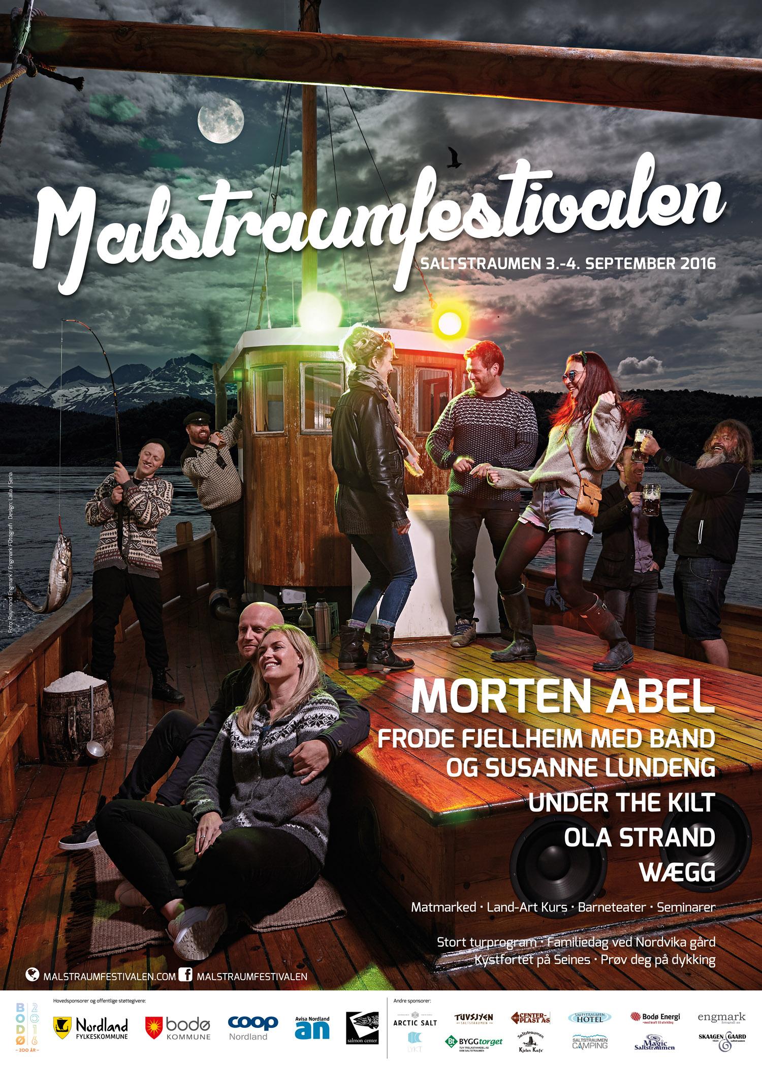 Plakat Malstraumfestivalen