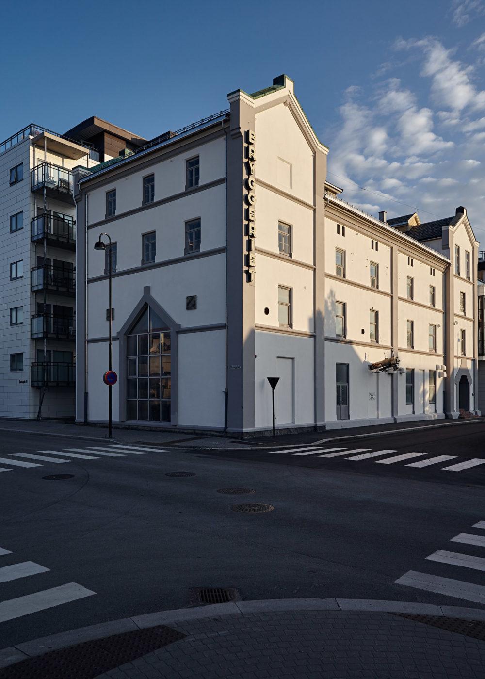 Fasaderenovering, Bryggeriet, Bodø