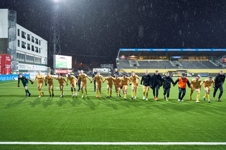 FK Bodø/Glimt fotografert for Josimar